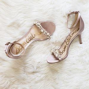 Sam Edelman Platt Embellished Sandal Heel
